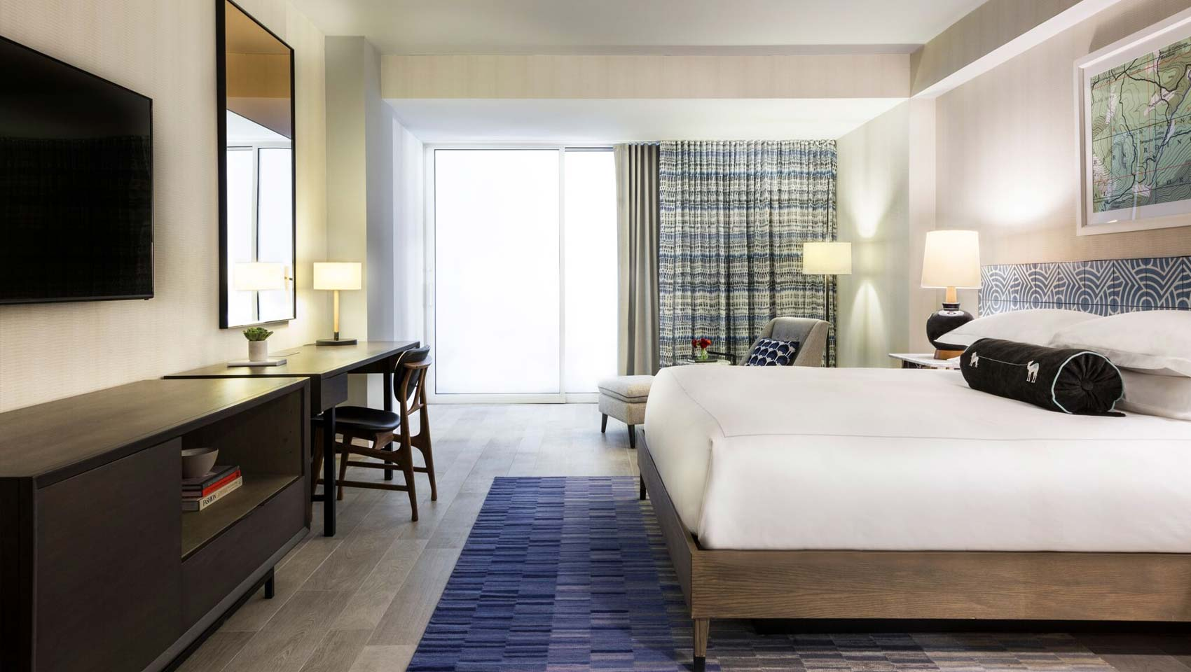 kimpton rowan palm springs guestrooms