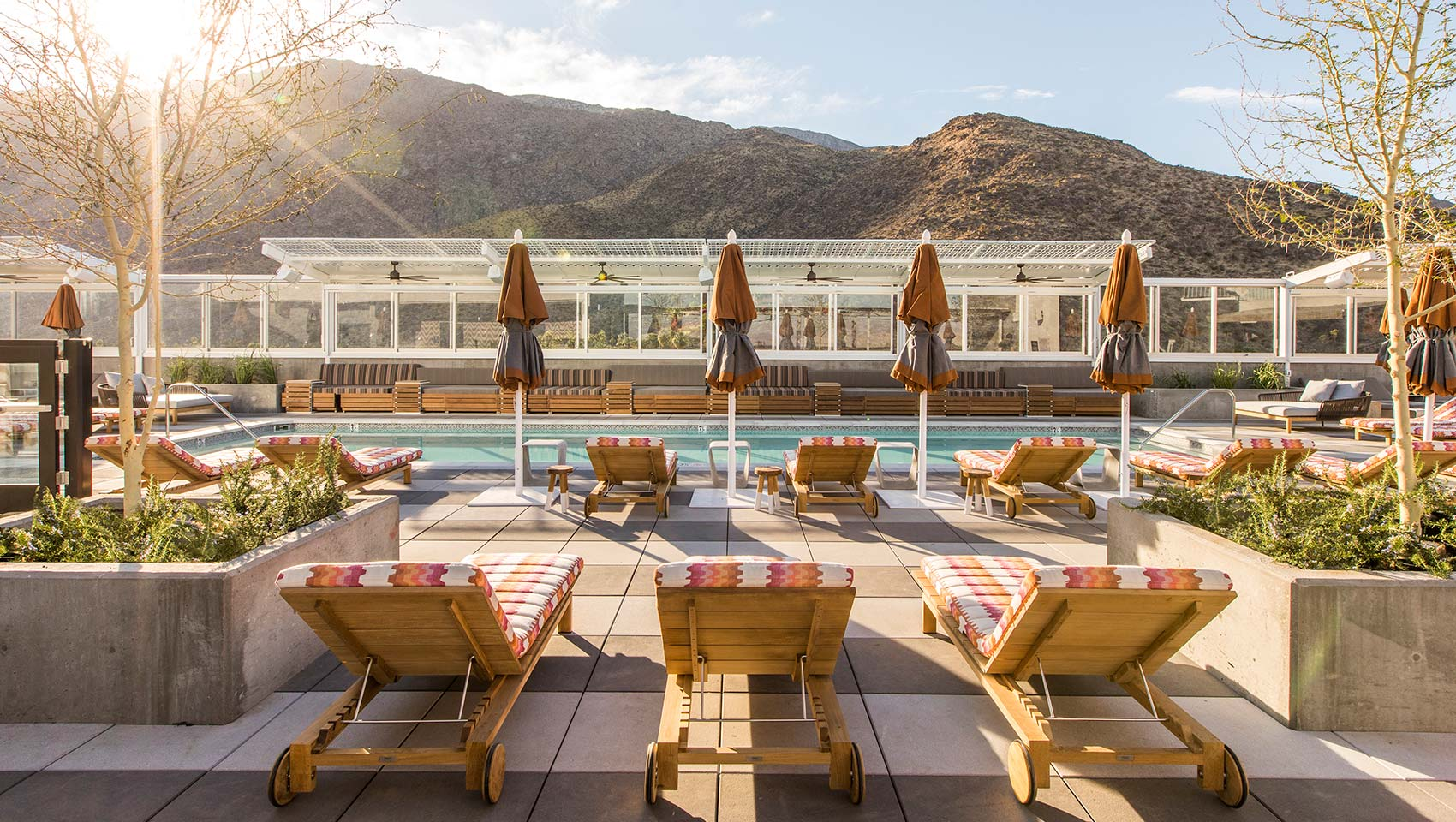 Kimpton rowan palm springs pool