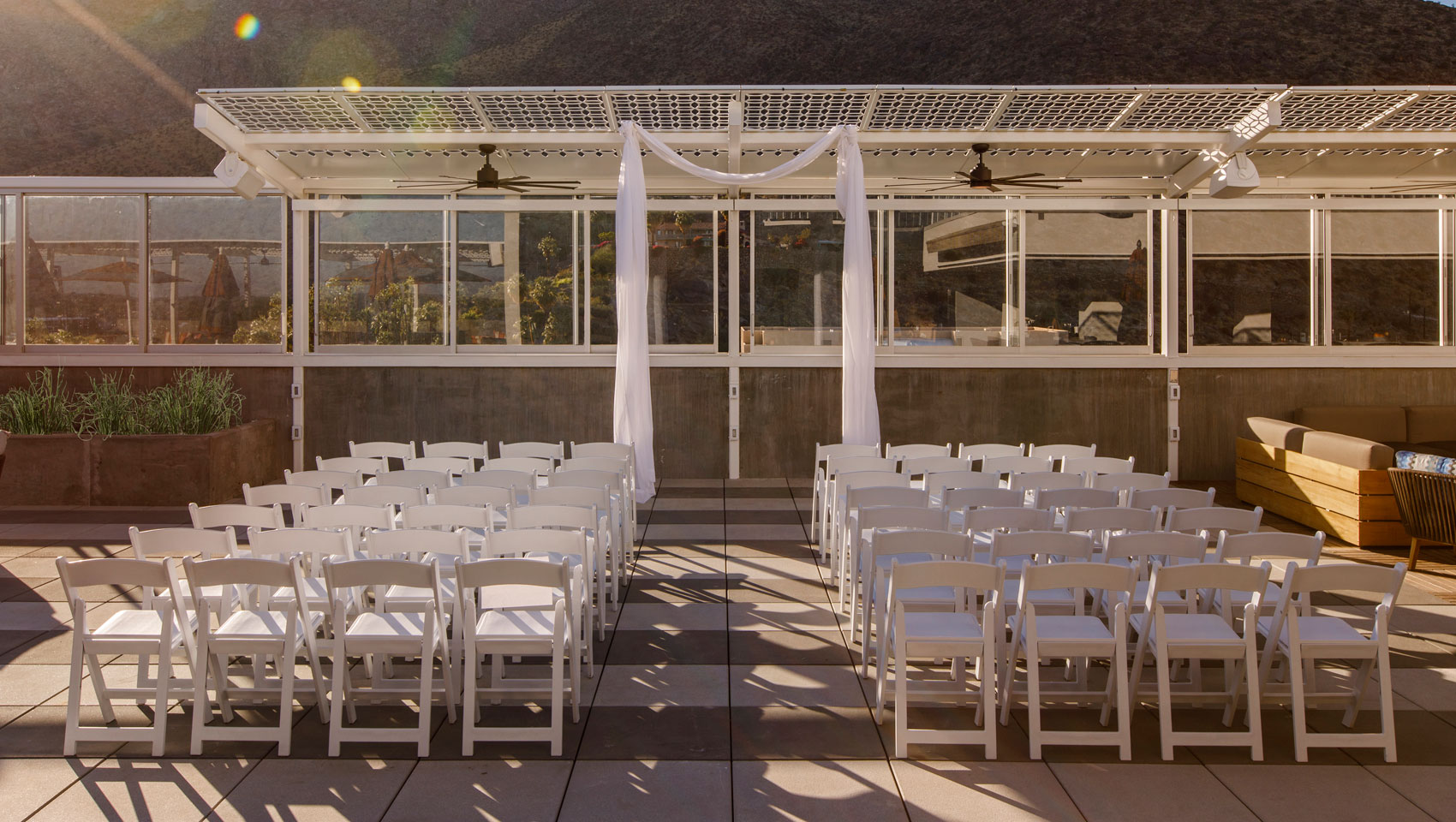Kimpton rowan hotel palm springs wedding packages