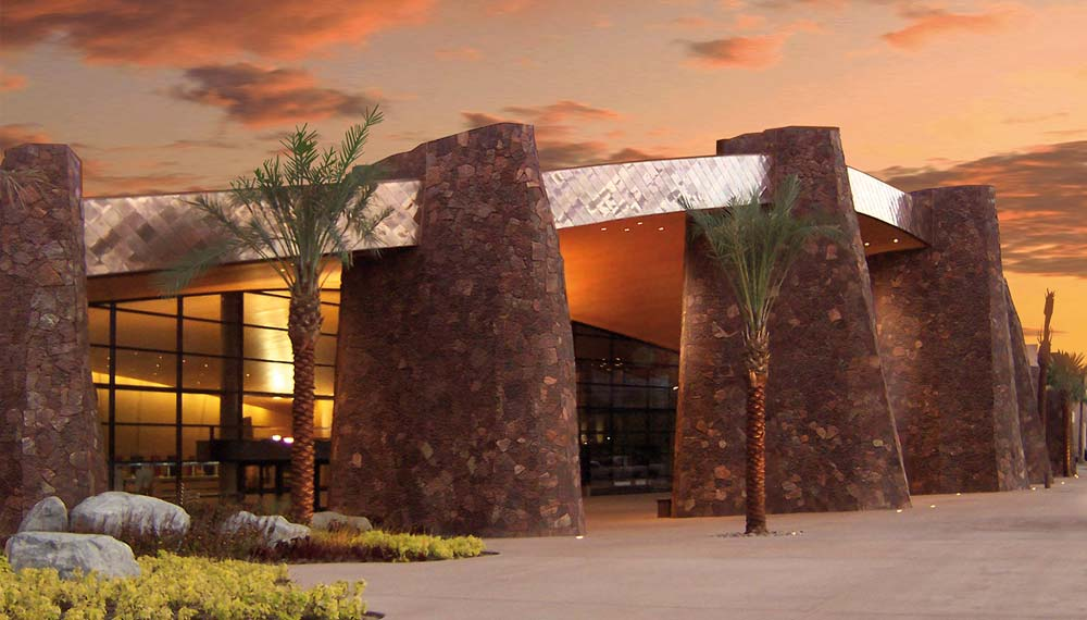 Palm Springs Convention Center at Dusk